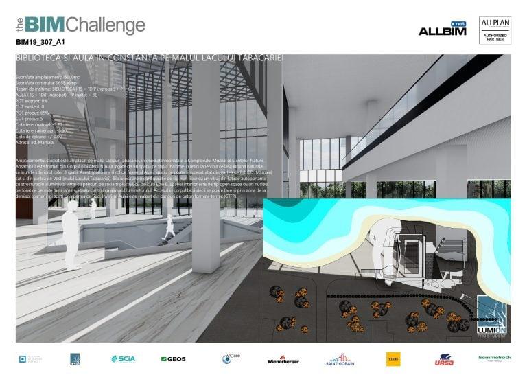 Castigator The BIM Challenge 2019 - P1 Arhitectura