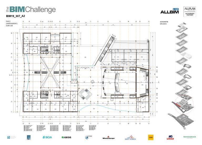 Castigator The BIM Challenge 2019 - P2 Arhitectura