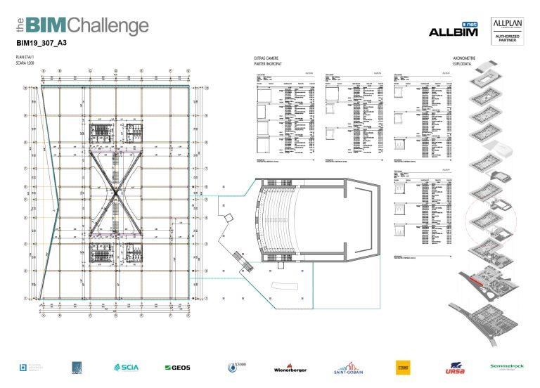 Castigator The BIM Challenge 2019 - P3 Arhitectura