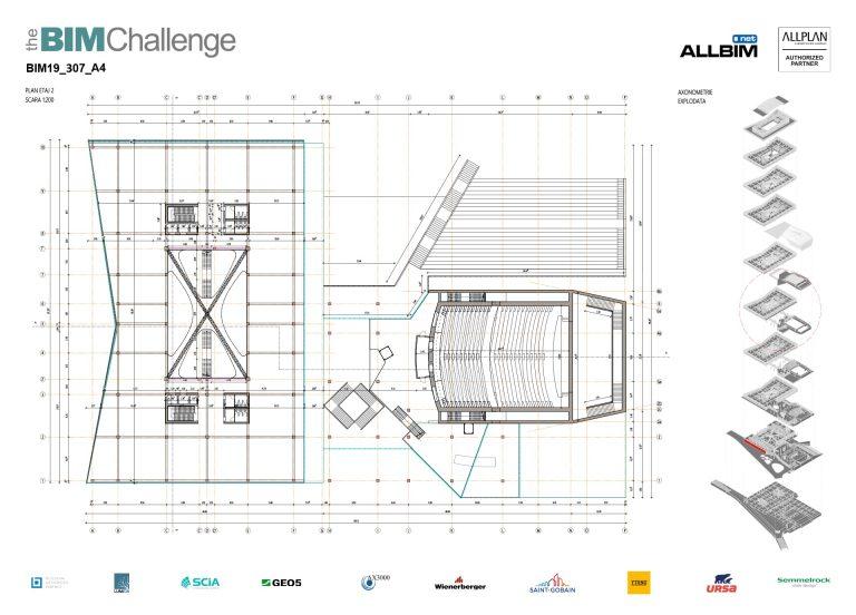Castigator The BIM Challenge 2019 - P4 Arhitectura