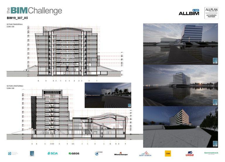 Castigator The BIM Challenge 2019 - P5 Arhitectura