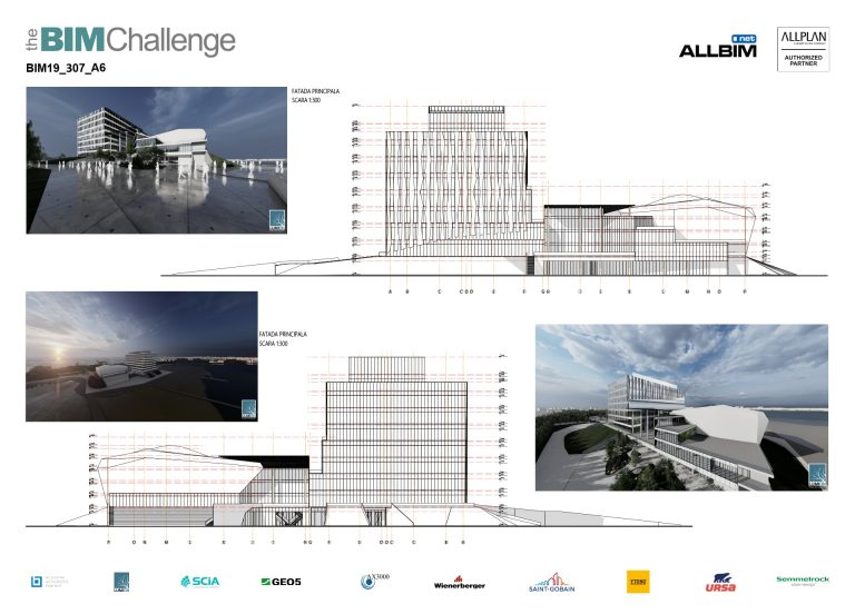 Castigator The BIM Challenge 2019 - P6 Arhitectura
