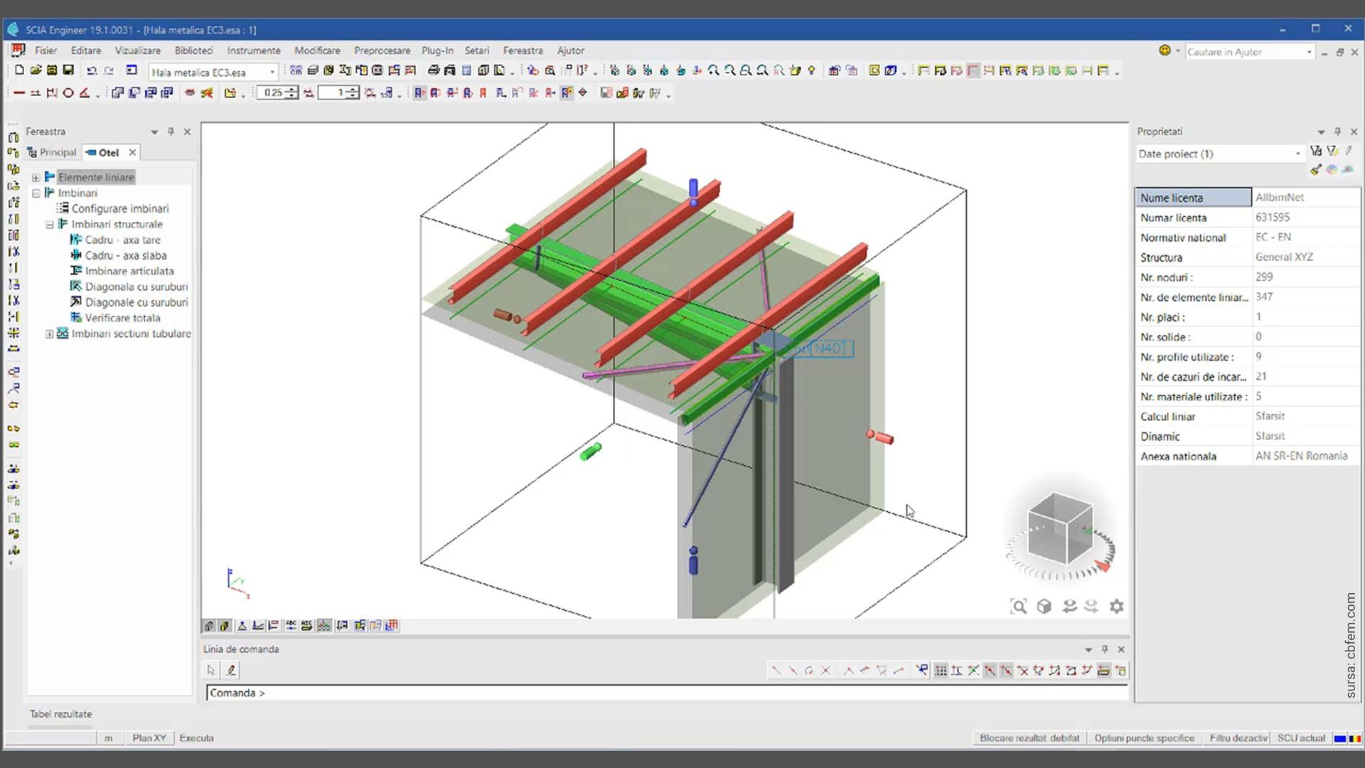 Webinar Eurocoduri Structurale 2020. Calculul îmbinărilor metalice prin metoda elasto-plastică