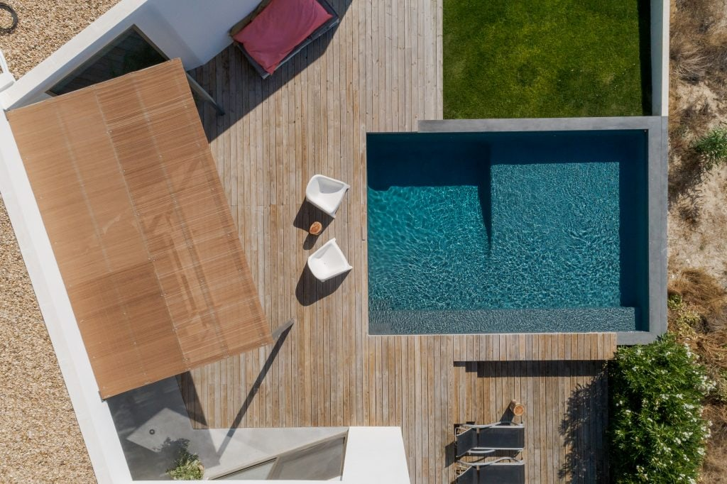 photodune 22637618 modern house with garden swimming pool and wooden deck xl
