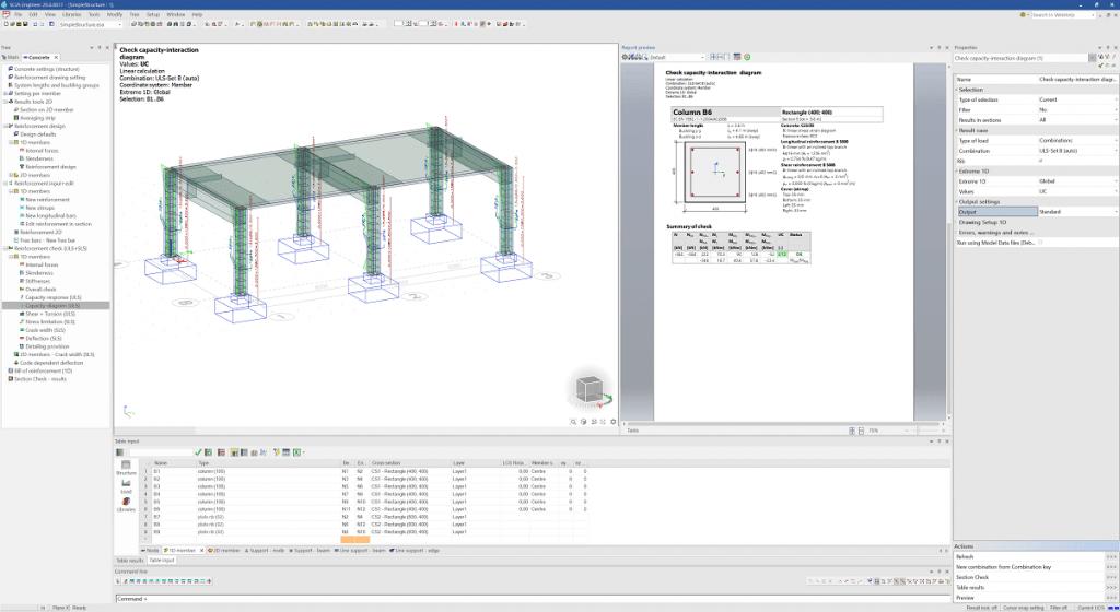 SCIA Engineer 20 - Proiectarea economică a armăturii din grinzile de beton utilizând verificări după cod