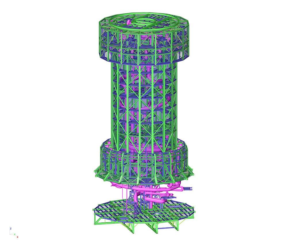 DEWA Tower - SCIA Engineer 1