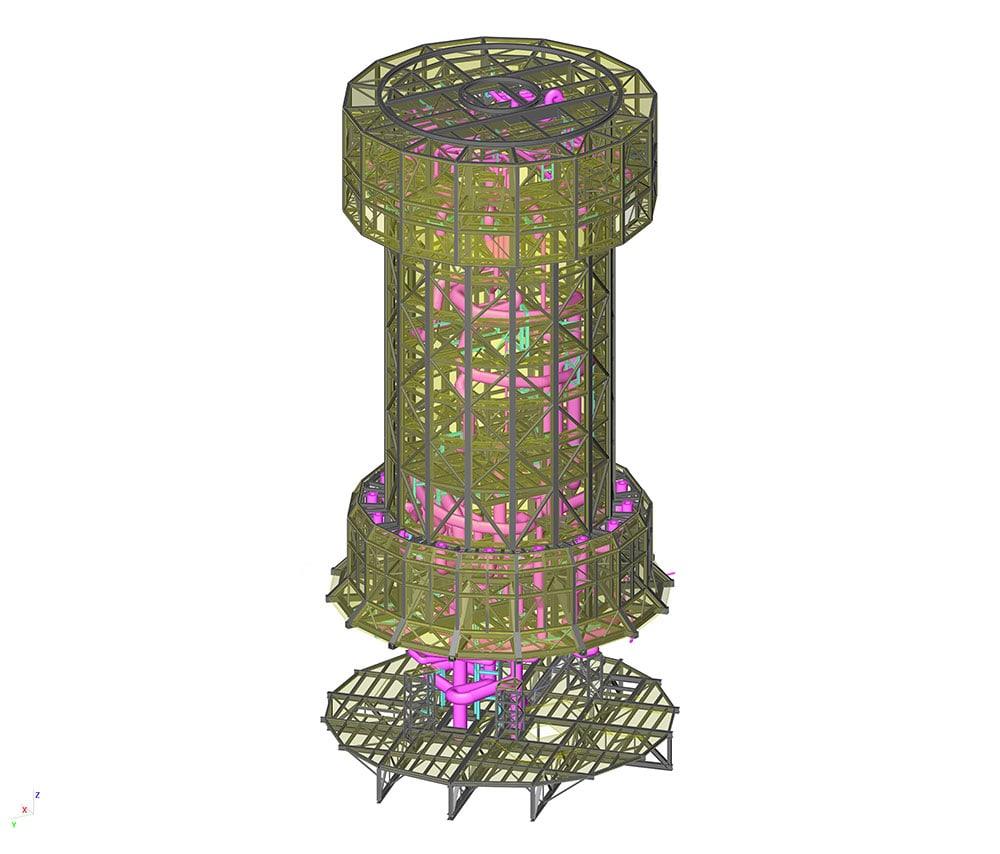 DEWA Tower - SCIA Engineer 3