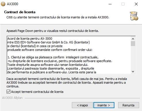 Instalare AX3000 4