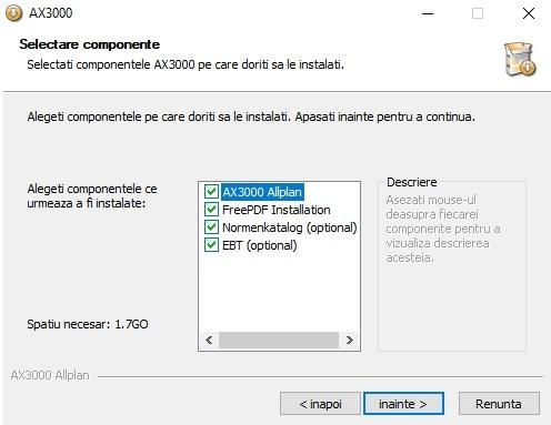 Instalare AX3000 5