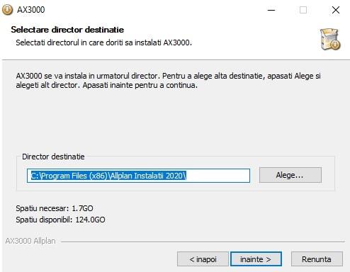 Instalare AX3000 6