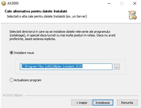Instalare AX3000 7