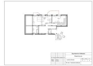Plan Etaj 1.Amplasarea mobilierului