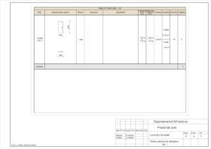 Tablou element de tâmplarie - Uși 1