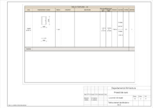 Tablou element de tâmplarie - Uși 2