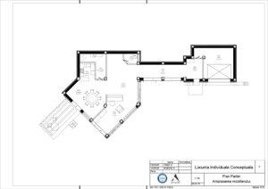 Plan Parter. Amplasarea mobilierului