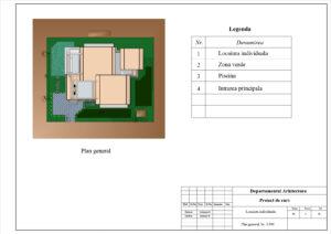 Plan general, Sc. 1:500