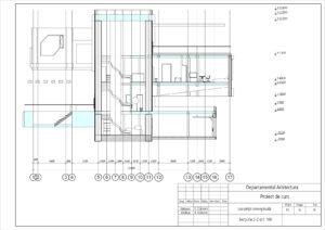 Secțiune 2-2 sc1: 100