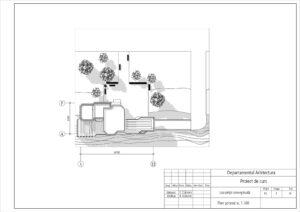 Plan general sc. 1-500