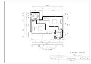Plan Etaj -3, Amplasare Mobilier, Sc. 1:100