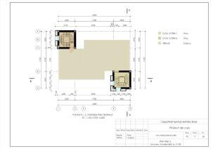 Plan Etaj -2, Zonarea funcțională, Sc.1:100