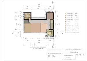Plan Parter Zonarea funcțională, Sc. 1:100