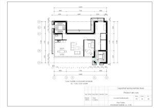 Plan Parter, Amplasare Mobilier, Sc. 1:100