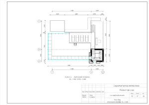 Plan Etaj, Amplasare Mobilier, Sc. 1:100