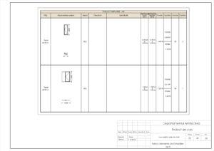 Tablou elemente de tâmplărie- Uși 5