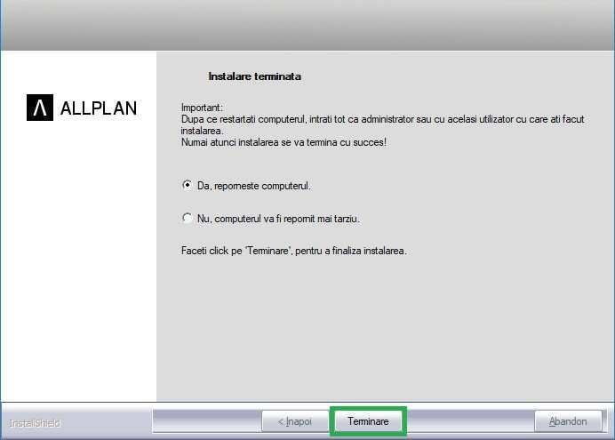 Instalare Allplan licenta educationala 16 min