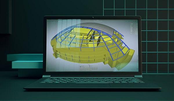 SCIA Engineer 21 - workspace maximizat